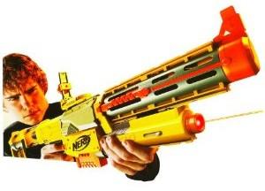 Image is loading Nerf-N-Strike-Elite-Rapidstrike-CS18-Blaster-Gun-