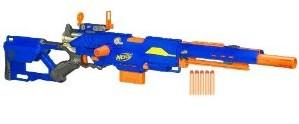 My Nerf Longstrike review: one of the best Nerf guns!