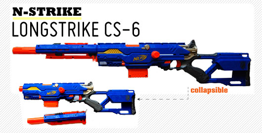 Nerf Longstrike CS-6