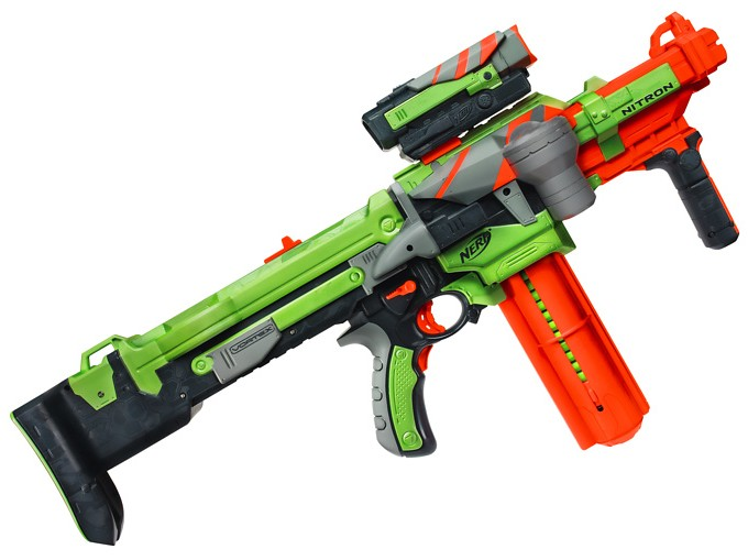 The Nerf guns, perhaps the most popular and well known toy guns in America  and all over the world, have finally made their way ...