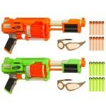 11. Nerf Dart Tag FuryFire 2 Pack Set