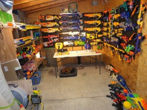 Nerf-Gun-collection