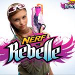 Nerf Rebelle guns