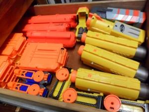 nerf gun accesories