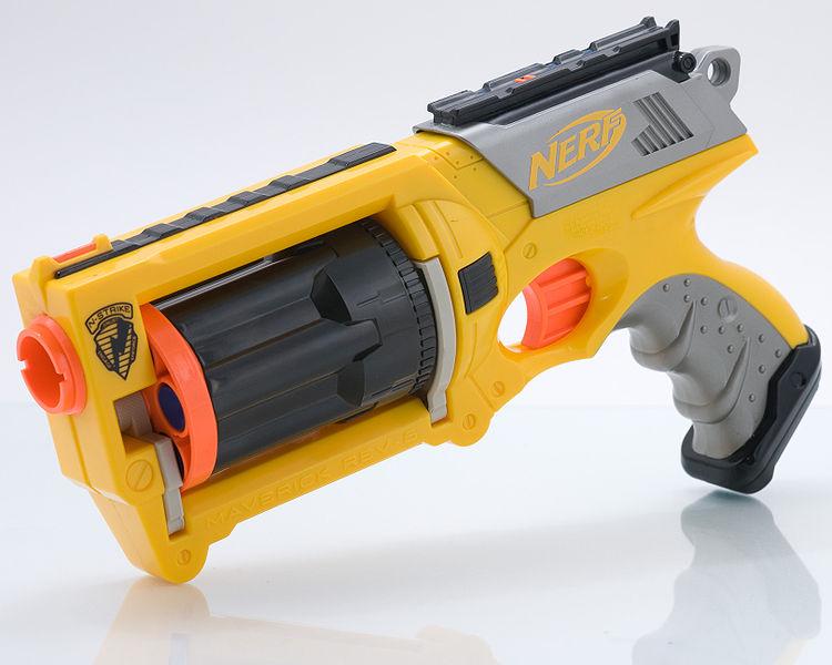 nerf gun maverick