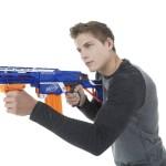 nerf gun war
