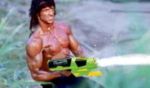 water guns