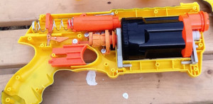 nerf gun work mode